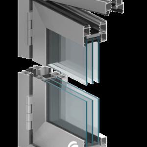 Lav terskel Foldedør aluminium